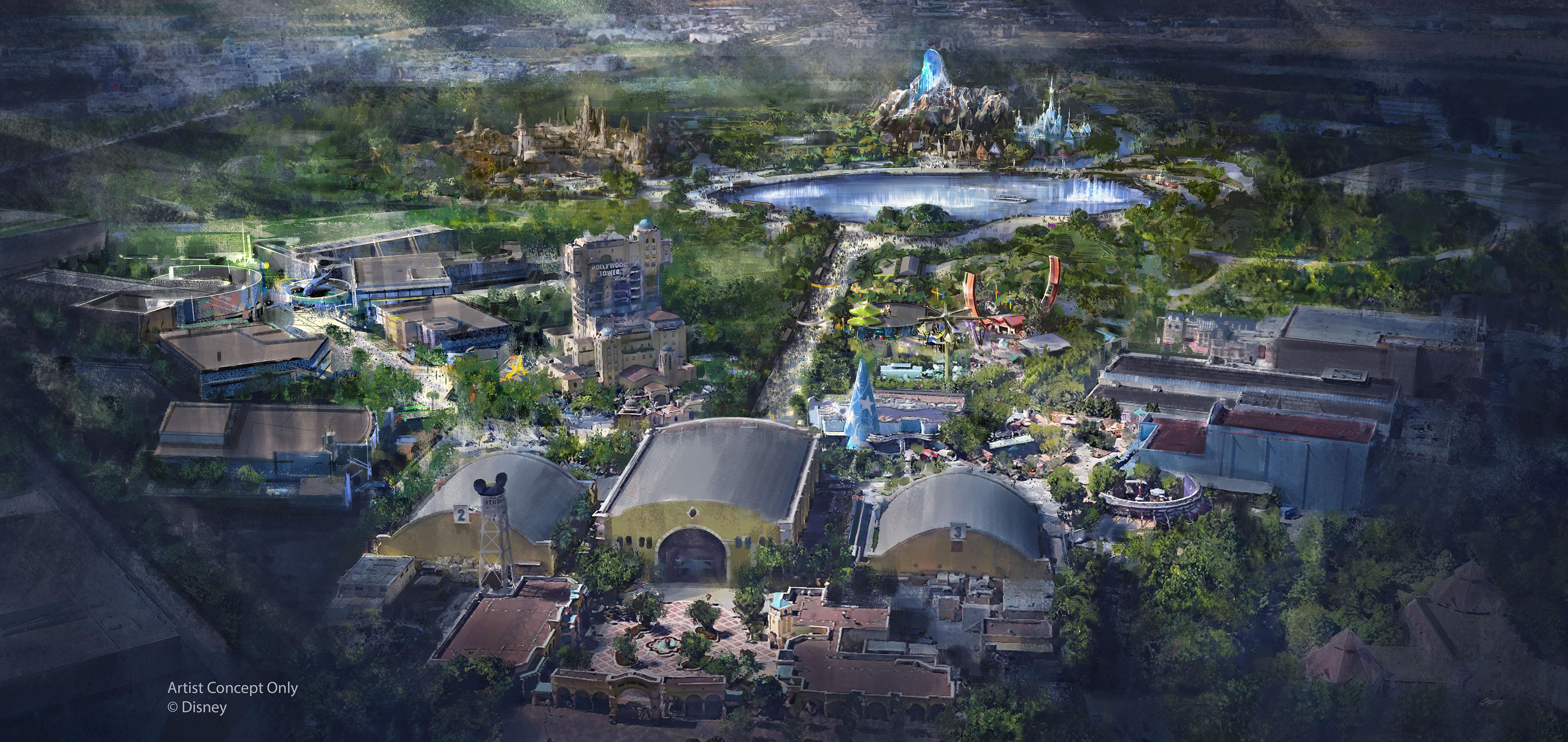 Erweiterung Disneyland Paris