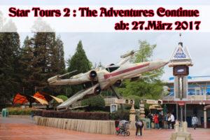 Eröffnung Star Tours 2 im Disneyland