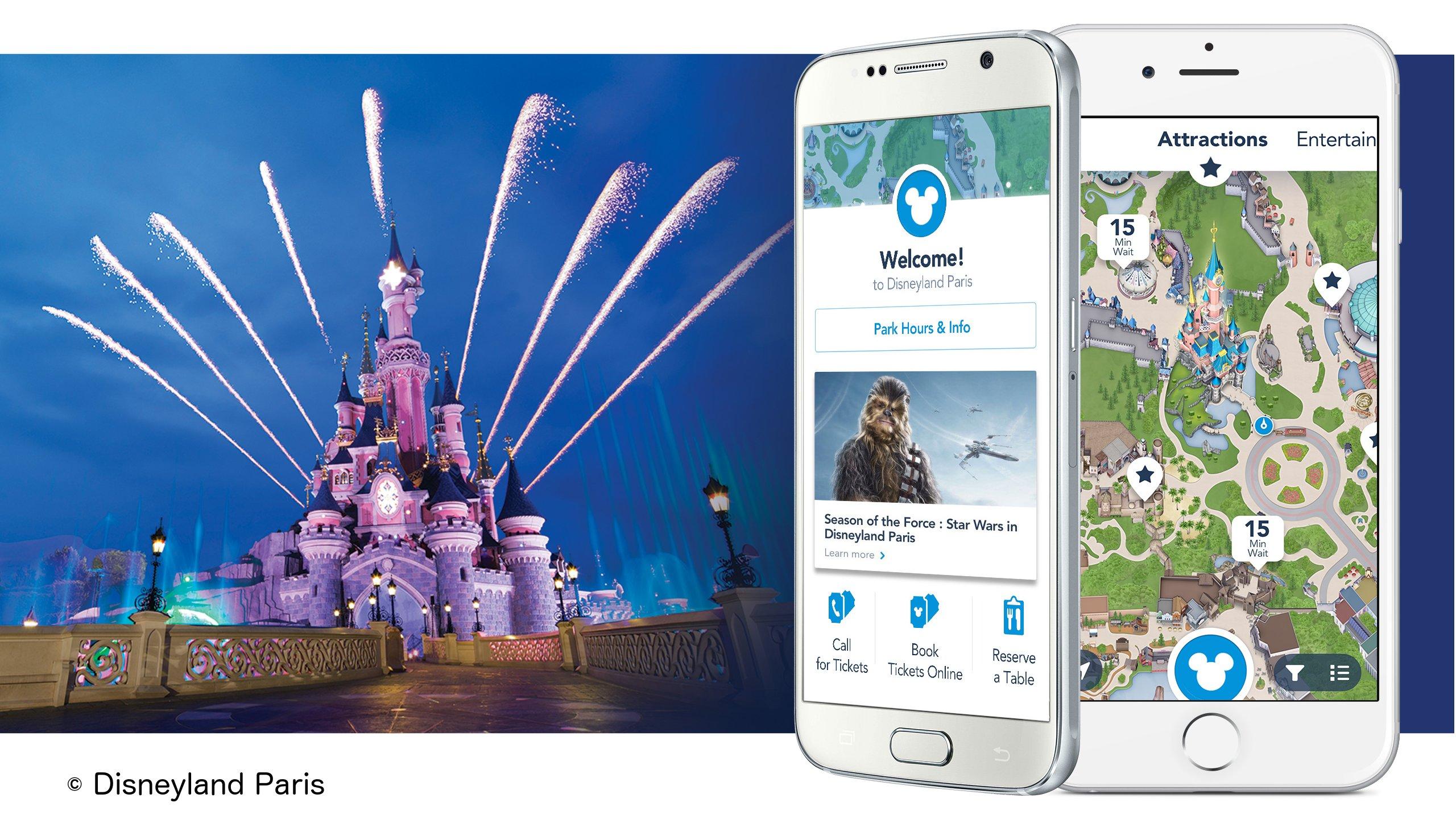 disneyland paris app